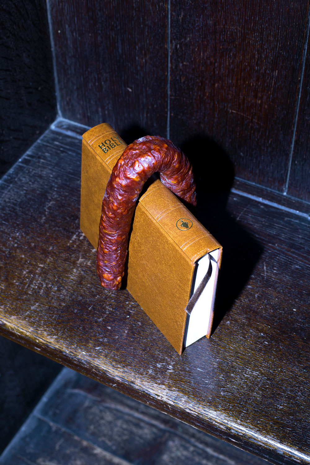 Melissa Spiccia | ON THE THIRD DAY SAUSAGE BIBLE MELISSA SPICCIA